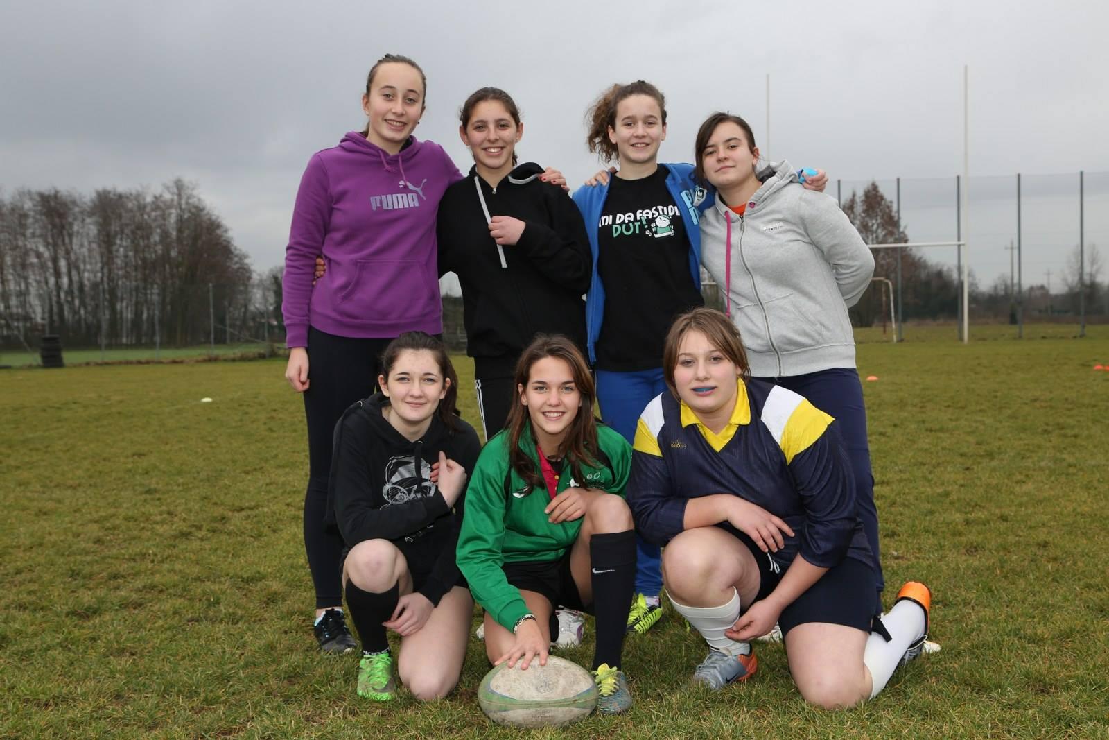 Primo raggruppamento rugby scuola 2016. Progetto Rugby Scolastico ASD Juvenilia/Bassa Friulana
